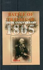 Tuvalu 2005 MNH Battle of Trafalgar 200th Ann 1v S/S Cuthbert Collingwood Stamps