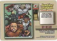 OVERPOWER Any Mission Sovereign Seven JLA Very Rare - Remove a Hit if Inherent