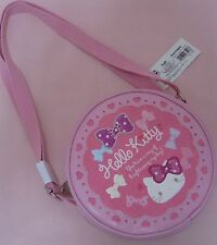 Sanrio Hello Kitty Shoulder Ribbon Pochette Pink Free shipping