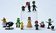 Nintendo Super Mario Bros Game Series Lovely Toy Doll PVC Action Figure 12 pcs