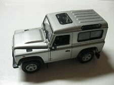 1:24 SCALE WELLY LANDROVER DEFENDER  SUV DIECAST W/O BOX