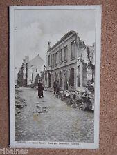 R&L Postcard: WW1 Bomb Damage, Rheims