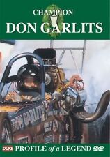 Champion Don Garlits - Profile of a legend (New DVD) Dragsters Drag Racing
