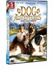 Man's Best Friend: Dog Adventures - 5 Movies, New DVD, Rin Tin Tin Jr., Chill Wi