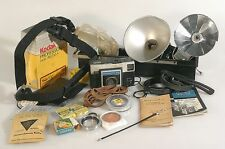 MISCELLANEOUS PHOTOGRAPHIC ACCESSORIES LOT