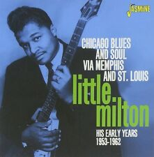 LITTLE MILTON - CHICAGO BLUES & SOUL  CD NEU