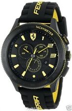 Imported Ferrari Men's 0830138 Scuderia XX Sport Black Yellow Watch 2yr Waranty
