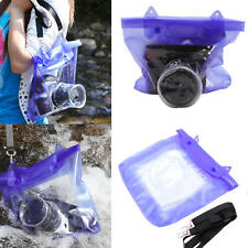 20M Waterproof DSLR SLR Camera Underwater Housing Pouch Dry Bag For Canon Nikon
