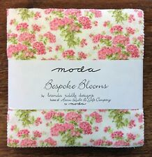 "Bespoke Blooms by Brenda Riddle for Moda  - fabric Charm Pack - 5"" squares"