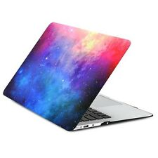 """Pink Galaxy Graphic Rubberized Case for MacBook Air 13"""" Model A1369 and A1466"""