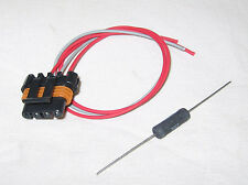 Alternator Connector Pigtail CS130D, AD230, AD237 and AD244 3 Wire with Resistor