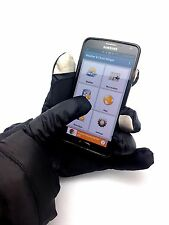 Calvin Klein Touch Screen Cell Phone Tablet Winter Gloves Thinsulate Black L/XL