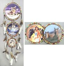 Handmade Beaded Dream Catchers Wall Hanging Decorations 6Pc Lot (ENPDC26#)