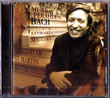 Murray PERAHIA: BACH Keyboard Concerto No.1, 2, 4 SONY CD Klavierkonzerte Piano
