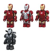 Iron Man 2 Mark MK 4 5 6 War Machine Kubrick figure set Medicom