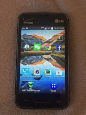 LG Optimus Zone Verizon Wireless UNLIMITED 3G For $15 A Month Prepaid Hotspot RV