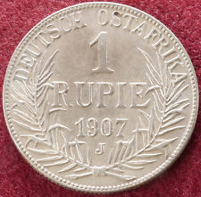 German East Africa 1 Rupee 1907 J (D1101)