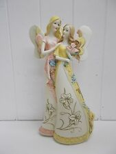 AS316 Mia Flora Angel Star Figurine Nature's Blessings Mother Daughter  #10316