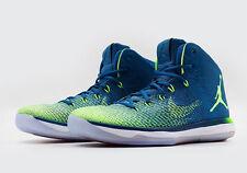 Nike Air Jordan XXXI 31 SZ 10.5 Brazil Olympic Volt Ghost Green 845037-325
