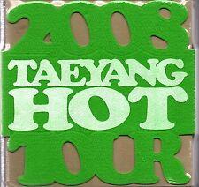Big Bang - Global Warning Tour with TAEYANG CONCERT 3DVD(Green Version) *SEALED*