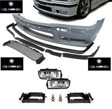 PARECHOC PARE CHOC AVANT M3 EN ABS BMW SERIE 3 E36 + ANTIBROUILLARD + CACHE