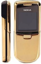 Nokia 8800 Gold Edition Unlocked 128 MB Internal Memory 2.0 MP Camera