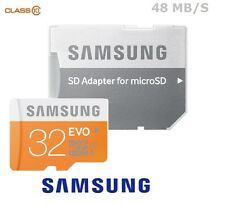 Samsung 32GB Micro SD Card SDHC EVO 48MB/s UHS-I Class 10 TF Memory Card NEW UK
