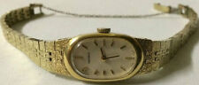 Ladies SEIKO Cocktail Watch Gold # 11-8300 Japan