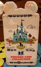 NEW Disney World Parks Pressed Coin Collectors Book Holds 57 Coins - Penny Album