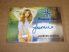 2014 Benchwarmer JASMINE DUSTIN Treasure Chest Blue/5 BEING MARY JANE Iron Man