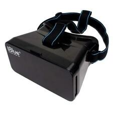iBlue Head Plastic VR Vedio 3D Glasses for Iphone 6 Phone Google Cardboard #A BG