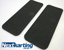 GO KART TILLETT SEAT SELF ADHESIVE FOAM 9mm - FOR REAR OF SEAT PAD - ROTAX IAME