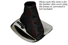 FITS RED STITCH VAUXHALL OPEL INSIGNIA 08-13 AUTOMATIC AUTO LEATHER GEAR GAITER