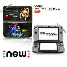 [new 3DS XL] Pokemon Ash Ketchum Pikachu Greninja VINYL SKIN STICKER DECAL