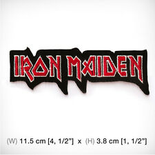 new IRON MAIDEN EMBROIDERED PATCH IRON ON or SEW. Heavy metal Hard rock Death