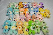 Lot of 28 Vintage and New Style Care Bears, Baby Bears, and Care Bear Cousins