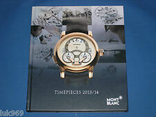 MONTBLANC – Timepieces 2013/14 – Watch Collection (Catalogo Catalogue)