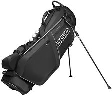Ogio Grom Golf Stand Bag Carry 2016 Carbon Black New
