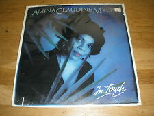 AMINA CLAUDINE MYERS in touch LP Record - Sealed