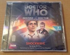 Doctor Who - Shockwave Audio Book Cd Sophie Aldred Ian Brooker 7TH Doctor SEALED