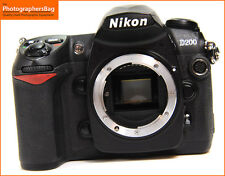 Nikon D200 10MP DIGITAL SLR CAMERA BODY + GRATIS UK POST