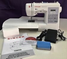 SINGER 7285Q PATCHWORK NEWEST QUILTING & SEWING MACHINE Authorized Singer Dealer