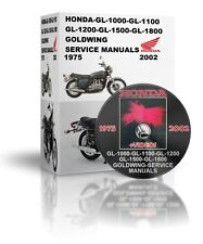 HONDA-GL-1000-GL-1100-GL-1200-GL-1500-GL-1800-GOLDWING-SERVICE MANUALS DVD & VID