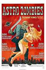 Astro Zombies Poster 01 A3 Box Canvas Print