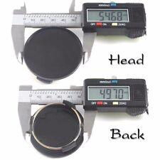 4PCS Hub Caps Wheel center cap back=50mm. Head=55mm.