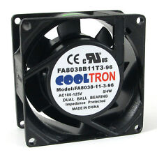 110V / 115V / 120V AC Cooling Fan. 80mm x 38mm LOW SPEED (LS8038A)