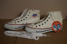 VTG BEL-MAR BATA USA PRO BASKETBALL HIGH TOP CANVAS SHOES SNEAKERS YOUTH SIZE 4