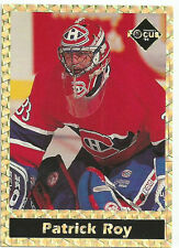 PATRICK ROY PROMO NOVELTY NHL HOCKEY CARD