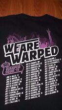 Vans 2011 WARPED TOUR XL T-Shirt We Are Warped mens womens