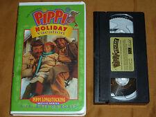 The Original Pippi Longstocking- Pippi Holiday Vacation/Pippi Goes on Board VHS